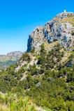 Мальорка, Балеарские острова: Крышка de Formentor увиденное от Mirador c Стоковое Фото
