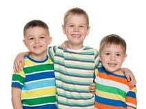 3 мальчика моды радостных Стоковые Изображения RF