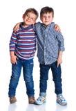 Мальчики в студии Стоковые Изображения