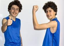 Мальчики мышцы Стоковое Фото