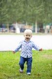 мальчик блондинкы младенца Стоковое Фото