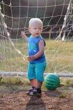 мальчик блондинкы младенца Стоковое Изображение