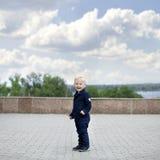 мальчик блондинкы младенца Стоковые Изображения RF