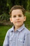 Мальчик вне дома Стоковое Изображение RF