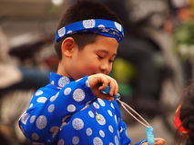 Мальчик Вьетнама Стоковое Изображение RF