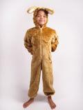 Мальчик в костюме причудливого платья стоковое изображение