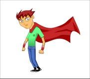 Мальчик героя Стоковое Изображение RF