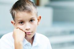 Мальчик 10 лет Стоковое Изображение RF