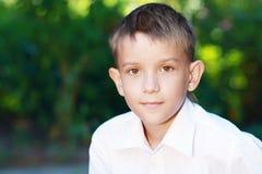 Мальчик 10 лет Стоковые Изображения RF