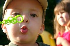 Пузыри в солнце Стоковое Изображение