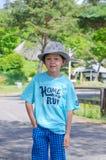 мальчик жизнерадостный Стоковое Изображение RF