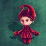Мальчик знака Scorpio астрологический Стоковая Фотография