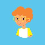 Мальчик имбиря Стоковое фото RF