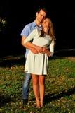 Мальчик и девушка Стоковые Фото