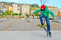 Мальчик конька Стоковые Фотографии RF