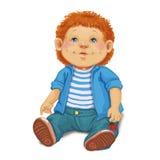 Мальчик куклы игрушки Стоковые Изображения RF