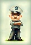 Мальчик матроса Стоковые Фото