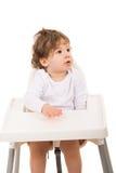 Мальчик малыша смотря прочь Стоковое Изображение