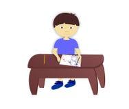 Мальчик мальчика иллюстрация вектора