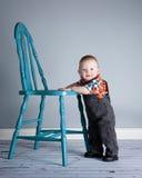Мальчик 8 месяцев старый Стоковая Фотография
