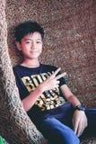 Мальчик, милый мальчик, тайские люди Стоковые Фото