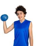 Мальчик мышцы Стоковая Фотография RF