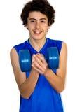 Мальчик мышцы Стоковая Фотография