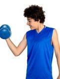 Мальчик мышцы Стоковое Изображение RF