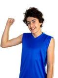Мальчик мышцы Стоковые Изображения RF