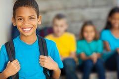 Мальчик начальной школы Стоковое фото RF