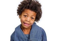 мальчик непослушный Стоковая Фотография RF