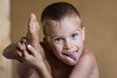мальчик непослушный Стоковые Фото