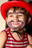 Мальчик нося шлем ковбоя Стоковое Изображение RF