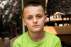 мальчик потревожился Стоковое Изображение RF