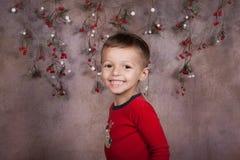 Мальчик праздника стоковые фотографии rf