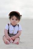 Мальчик пляжа Стоковые Фото