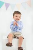 мальчик радостный немногая стоковое изображение