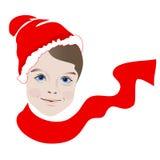 Мальчик рождества Стоковая Фотография