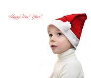 Мальчик рождества Стоковое Фото