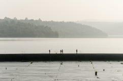 Мальчик рыбной ловли Стоковое Фото