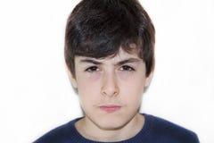 Мальчик сердит Стоковая Фотография RF