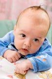 Мальчик смотря его родителей стоковое фото rf