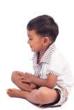 Мальчик счастливый и улыбка Стоковые Фотографии RF