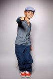 Мальчик танцев Стоковое фото RF