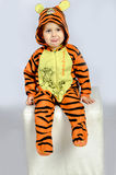 Мальчик тигра стоковое фото rf