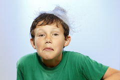 Мальчик удивлен Стоковые Фотографии RF
