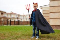 мальчик Фокус-или-обслуживания Стоковые Изображения