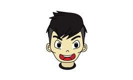 Мальчик 160696 характера дизайна Стоковое Изображение RF