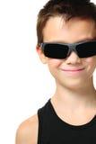мальчик холодный Стоковое фото RF