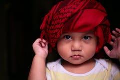 Мальчик шарфа Стоковые Изображения RF